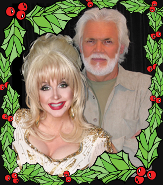 Kenny And Dolly Christmas.Kenny Rogers And Dolly Parton 1 Tribute